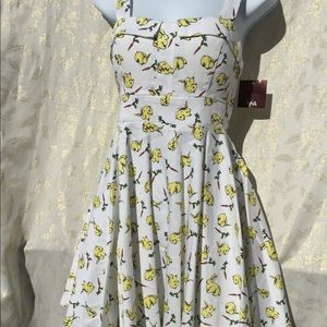 NWT ixia size junior small pinup skater bunnies
